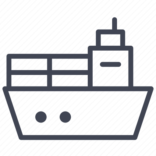 delivery, ocean, ship, shipping, yacht icon