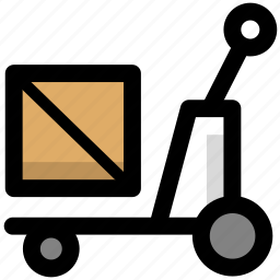 cargo, crate, goods, logistic, logistics, shipping icon