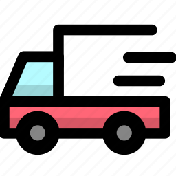 convey, delviery, haul, ship, shipping, transport, vehicle icon