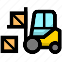 cargo, goods, logistics, shipping icon