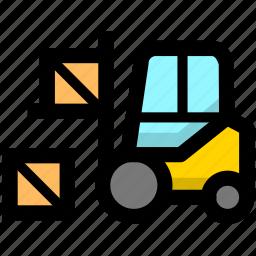 cargo, goods, logistics, shipping icon