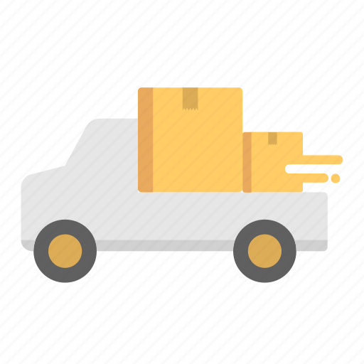 and, delivery, shipping, truck icon