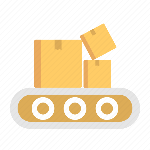 and, box, delivery, shipping, square icon