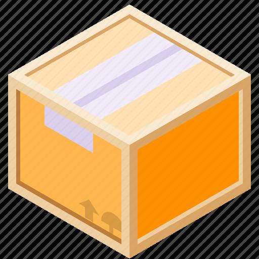 box, cardboard, frame, wood icon