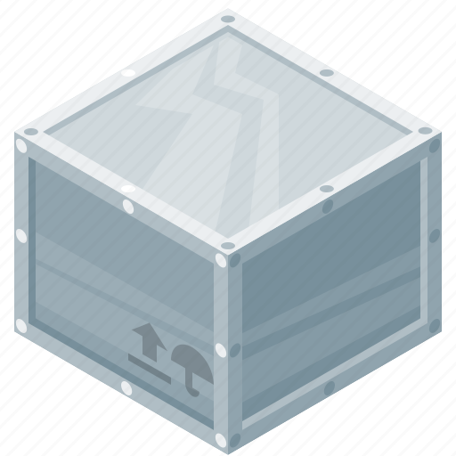 box, container, protection, steel icon