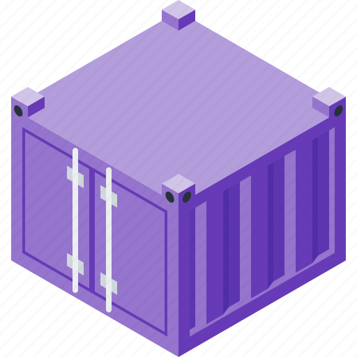 box, container, loading, logistics icon