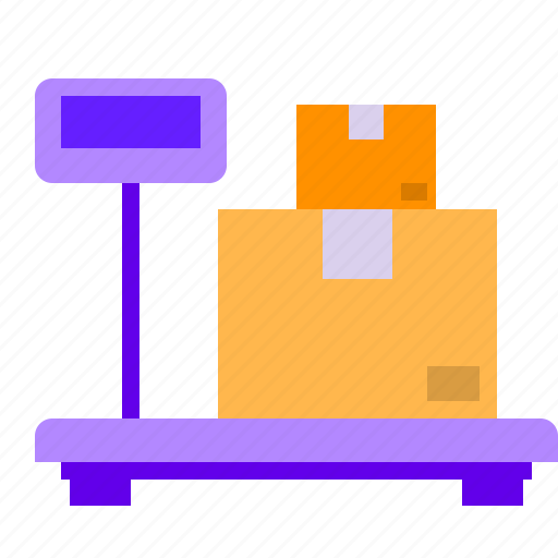 balance, package, scale, weight icon