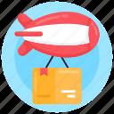 air freight, air logistic, air shipping, air delivery, air cargo icon