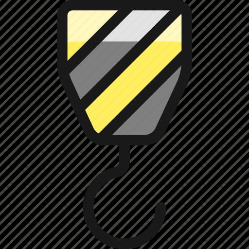Shipment, crane, hook icon - Download on Iconfinder