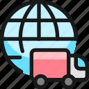 shipment, international
