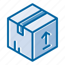 cargo, container, delivery, logistic, package, shipping, transportation icon