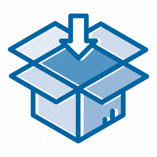 cargo, container, delivery, logistic, package processing, shipping, transportation icon