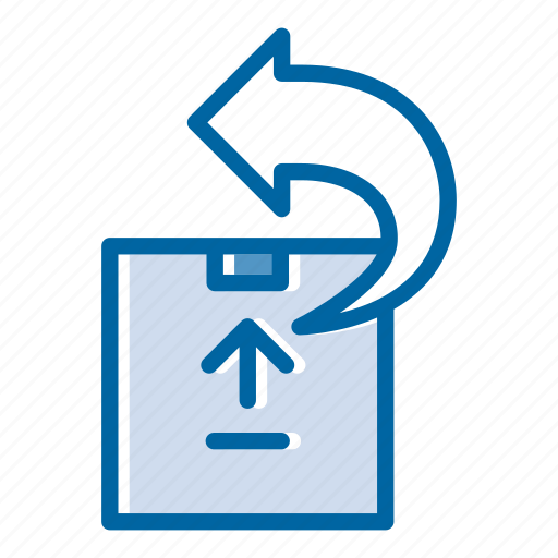 box, delivery, package, post, return, service, shipping icon