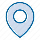 cargo, delivery, location, map marker, pin map, point of delivery, shipping icon