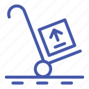 box, cargo, delivery, package, packaging, shipping, transportation icon