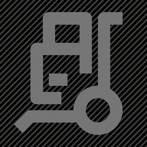 box, trolley icon