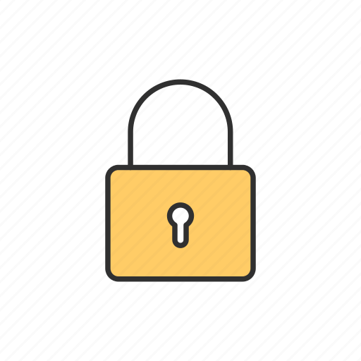 lock, padlock, private, safe icon