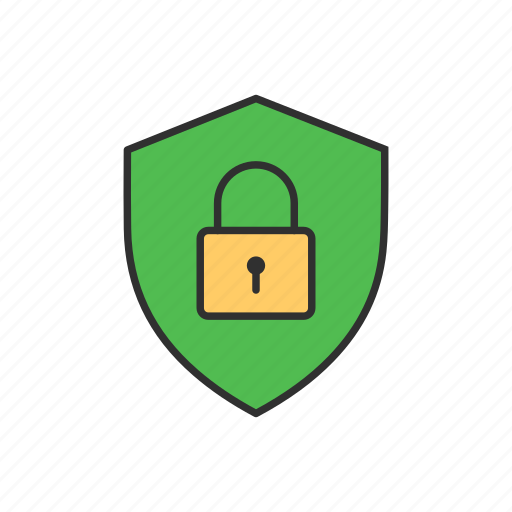 lock, safe, security, security badge icon