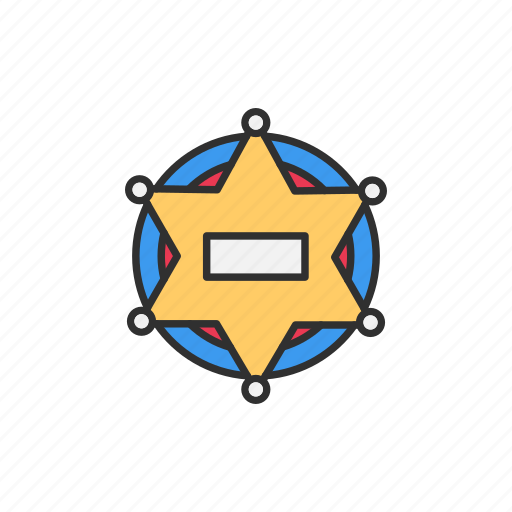 Badge, security, safety, security badge icon