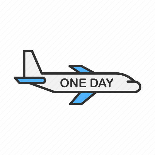 airplane, delivery, one day shipping, shipping icon