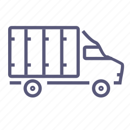 car, delivery, lorry, shipping, transport, transportation, van icon