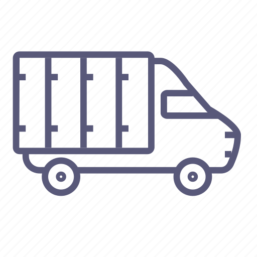car, delivery, lorry, shipping, transport, transportation, truck icon