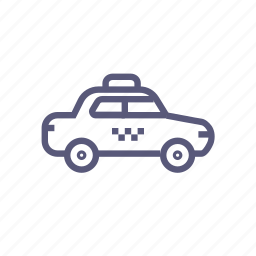 cab, car, shipping, taxi, transport icon