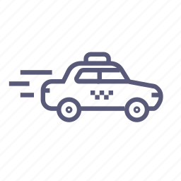 cab, quick, quick service, shipping, taxi, transport icon