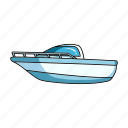 boat, ship, transport, vehicle, water, yacht icon