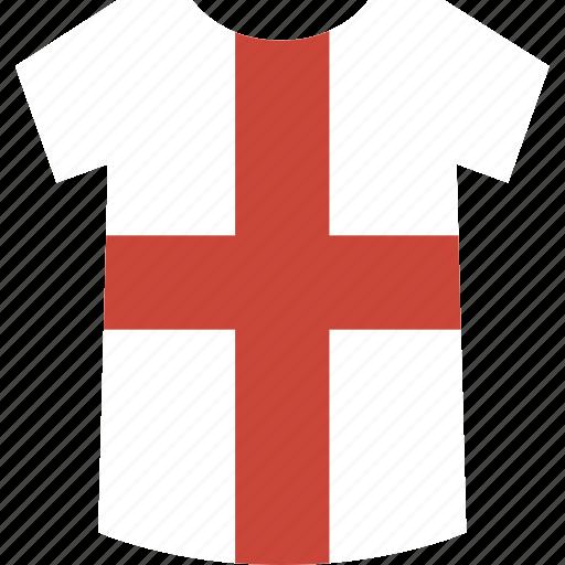england, shirt icon