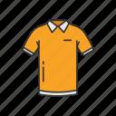 clothing, fashion, garment, polo, polo shirt, shirt, shortsleeve icon