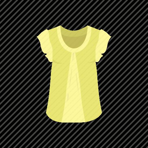 blouse, clothing, fashion, garment, shirt, short sleeve icon