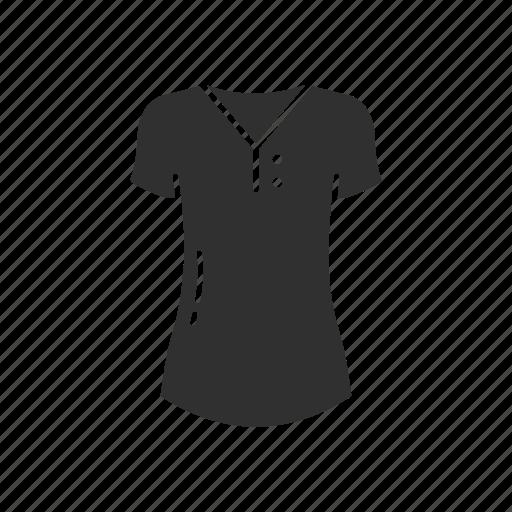clothing, dress, fashion, garment, shirt, t-shirt, v-neck icon