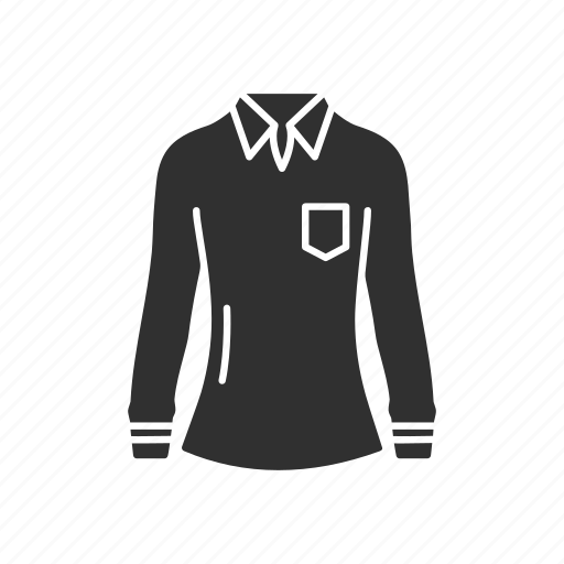 clothing, dress, garment, jacket, shirt, sweatshirt icon