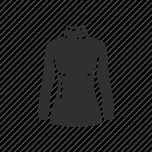 clothing, dress, fashion, garment, shirt, sweatshirt, turtle neck icon