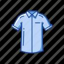 blouse, clothing, fashion, garment, polo, shirt icon