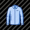 clothing, fashion, garment, jacket, male polo, shirt icon