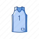 basketball shirt, clothing, fashion, garment, jersey, shirt icon