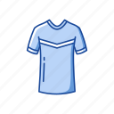fashion, football shirt, garment, jersey, male shirt, shirt icon