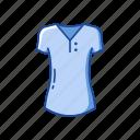blouse, clothing, female clothes, garment, shirt, t-shirt, v-neck