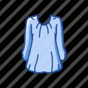 blouse, clothing, fashion, garment, longsleeve, shirt icon