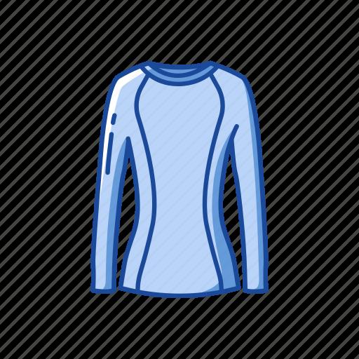 clothing, fashion, garment, rash guard, rash vest, swimwear icon