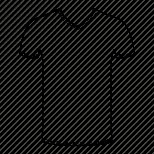 shirts, t shirt, t-shirt, tight fit, tight fit shirt, v neck, v neck shirt icon