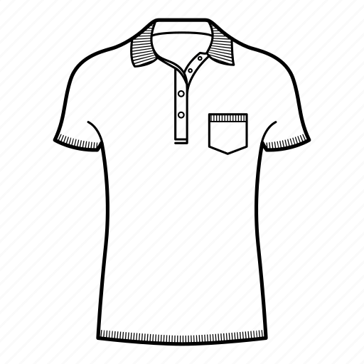 collar, polo, polo shirt, shirts, short sleeve, short sleeve polo shirt icon