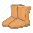 boots, cartoon, fashion, footwear, sign, ugg, winter icon