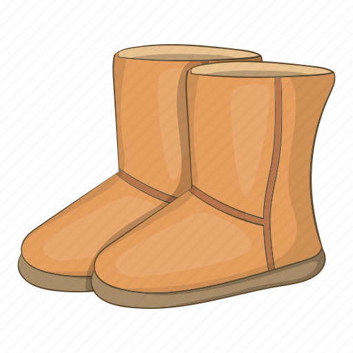 boots, cartoon, fashion, footwear, sign, ugg, winter icon