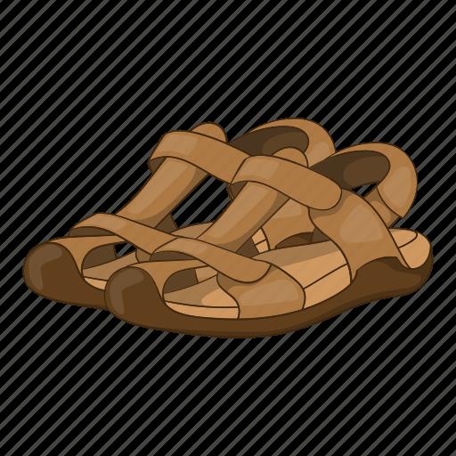 Cartoon, fashion, footwear, sandals, shoe, sign, summer icon - Download on Iconfinder