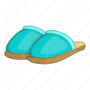 cartoon, footwear, home, shoe, sign, slipper, slippers icon