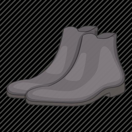 boot, cartoon, fashion, footwear, mens, sign, winter icon