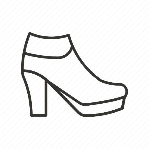 ankle, boot, boots, fashion, footwear, shoe, shoes icon